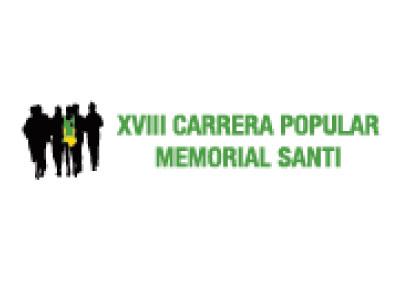 Diseño web y de cartelería de la Carrera Marugán 'Memorial Santi'